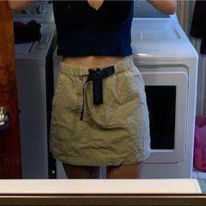 NWT Casual Khaki Skirt LF/CARMAR